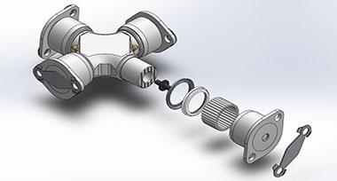 Reverse Engineering of Automotive U Joint