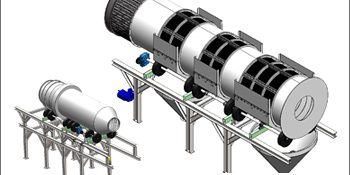 Reverse Engineering of a Recycling Plant for a Production Plant, Europe