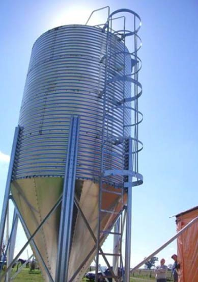 Steel Detailing Services for 1000 Ton Steel Silo