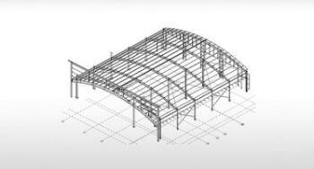 Structural Steel Fabrication Drawings for Railway Depot, UK