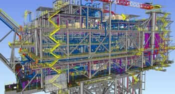Structural Steel Detailing of Offshore Oil Platform, Texas, USA
