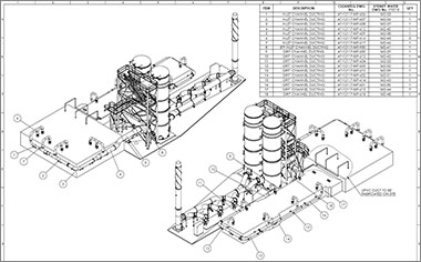 plant design services plant 3d modeling  p u0026id drafting