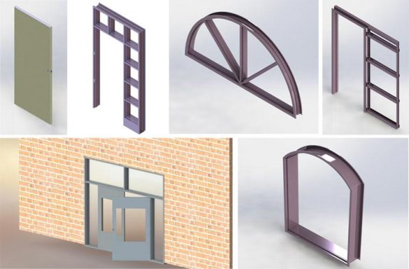 Design Automation for Custom Hollow Metal Doors & Frames, USA