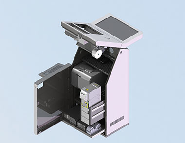 Kiosk Machine Open View