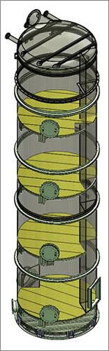 Metal Fabricated Separator