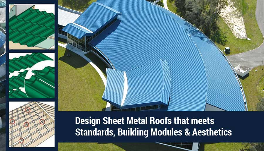Sheet Metal Roofs Design