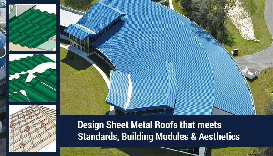 Sheet Metal Roofs Design