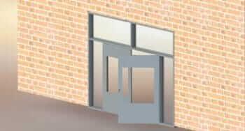 3D CAD Modeling & Design Automation to Metal Door Manufacturer, USA