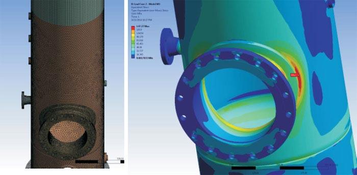 Fatigue Life Assessment of Pressure Vessel