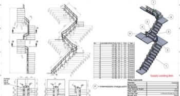 3D Modeling & Fabrication Drawing for Stairlifts Manufacturer, Europe
