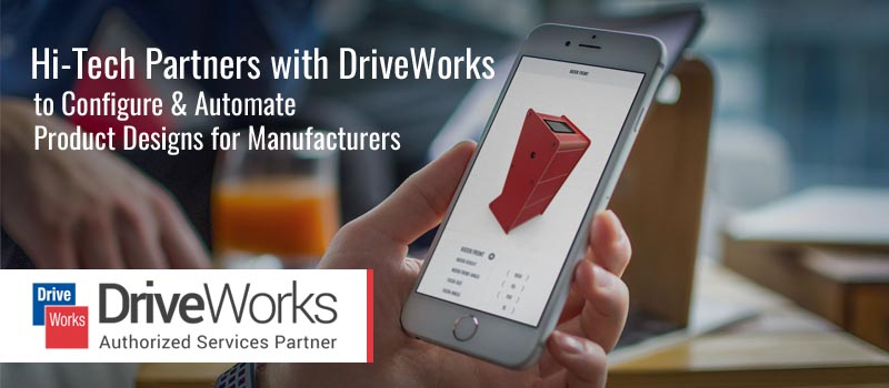 Hitech Partners with DriveWorks to Configure & Automate Product Designs for Manufacturers