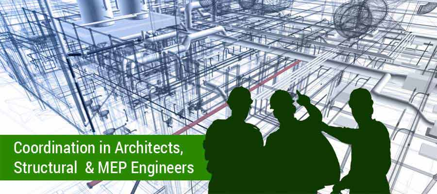Coordination in Architects, Structural & MEP Engineers