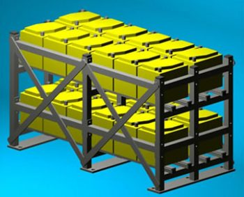 Structural Strength Assessment of Battery Rack Subjected to Seismic Loading, UK