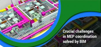 Four Crucial Challenges in MEP Coordination Solved By BIM