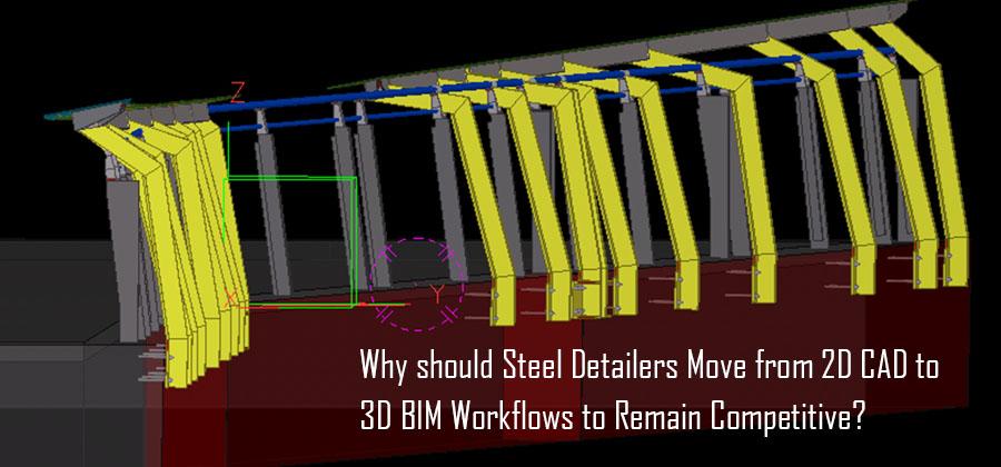 2D CAD to 3D BIM Workflows