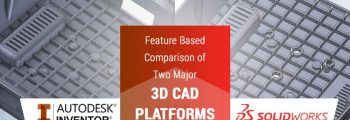 SolidWorks Vs Inventor: Feature Based Comparison of Two Major 3D CAD Platforms