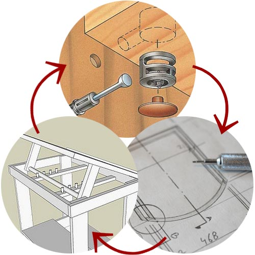 Woodworkers, CAD drafters, woodworking drafting
