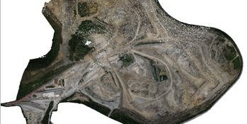 Converting Point Cloud Data to CAD Drawings for Surface Mining Plan in France