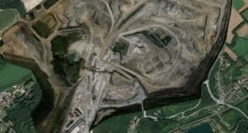 Point Cloud to CAD Conversion for Surface Mining Plan, France