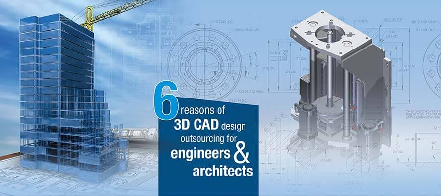 3D CAD Designing Outsourcing