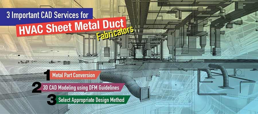 cad services for hvac sheet metal duct fabricators