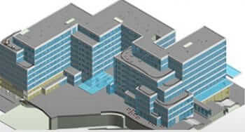 4D BIM Modeling of a Multistorey Mixed-use Building, UK