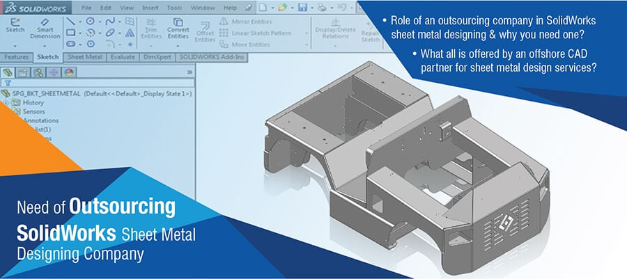 SolidWorks Sheet Metal Designing