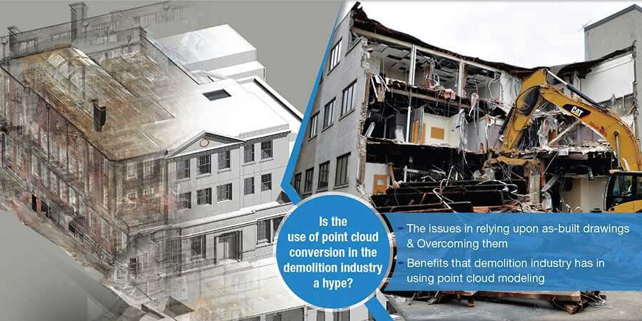 point cloud modeling for demolition industry