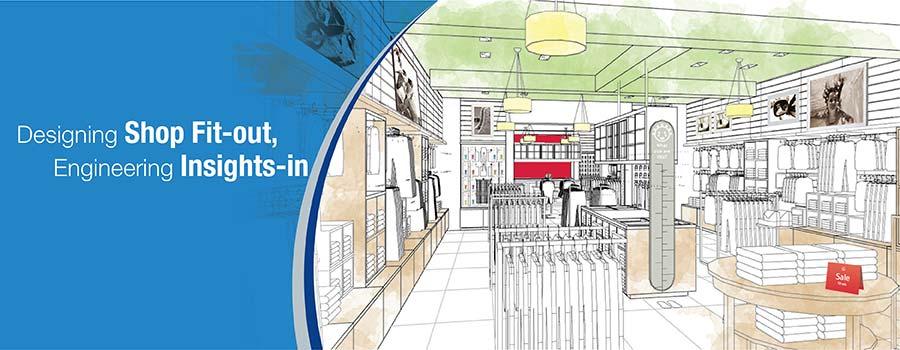 CAD Shop Drawings for Shopfitting