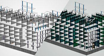 Formwork Construction on BIM 360 for Commercial Office, Netherlands