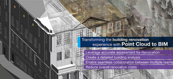 How Point Cloud to BIM Empowers Building Renovation Projects?