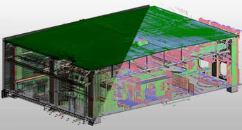 Point Cloud to 3D BIM Modeling for a Commercial Building, Europe