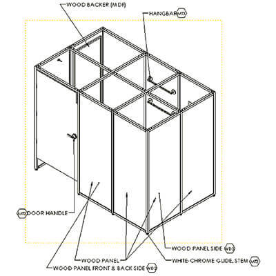 3D Manufacturing Drawings