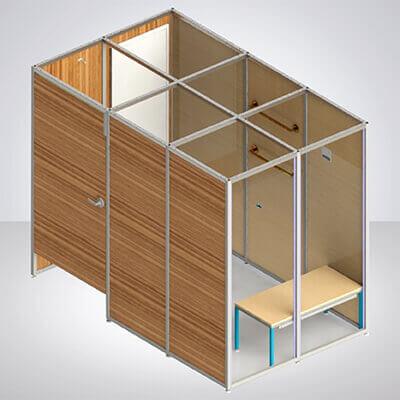 3D Model Fitting Room