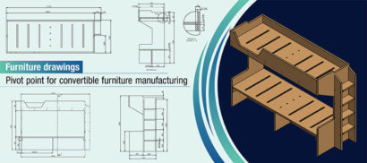 Perfect Furniture Drawings: How to Drive Efficiencies for Convertibles