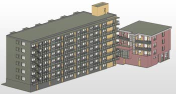 Dynamo Automation for 3D BIM Model Creation for Housing Corporation, Europe